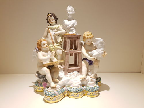 "Meissen Exclusiv-Kollektion ""Statuary"" 21 cm limited edition."